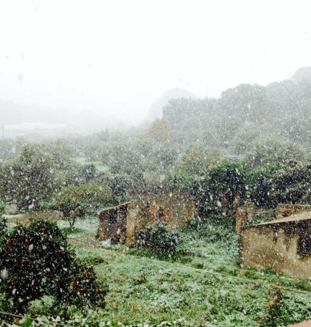 Nevicata del 31.12.2014